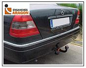 ТСУ для MERCEDES CLK C208 Coupe/Cabrio 1997-2002/MERCEDES C-Class W202 Sedan 1993-2000/MERCEDES C-Class S202 Estate 1993-2000, тип шара: A
