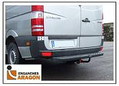 ТСУ для VW Crafter 3.0-5.0 Tm фургон/автобус с задн.ступ. (база 3.250/3.665 /4.325 mm) 2006-2017/MERCEDES Sprinter 3.0-5.0 Tm фургон/автобус с задн.ст